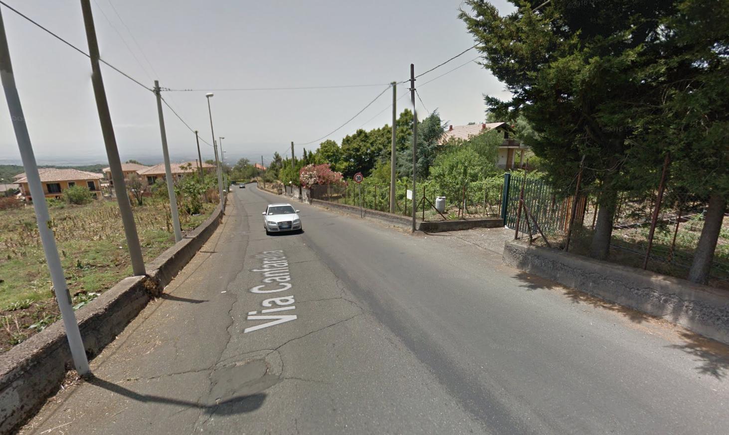 Ragalna: Da lunedì prossimo via Canfarella chiusa per un mese