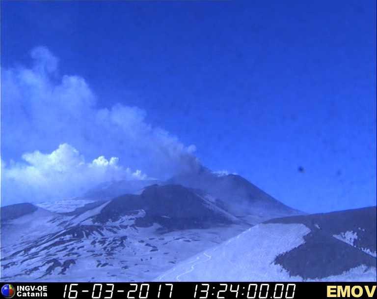Esplosione sull'Etna: 10 feriti