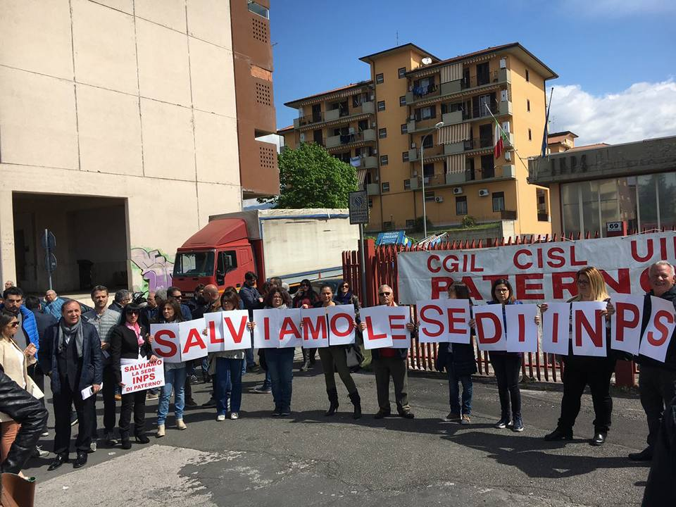 L'agenzia Inps di Paternò è salva