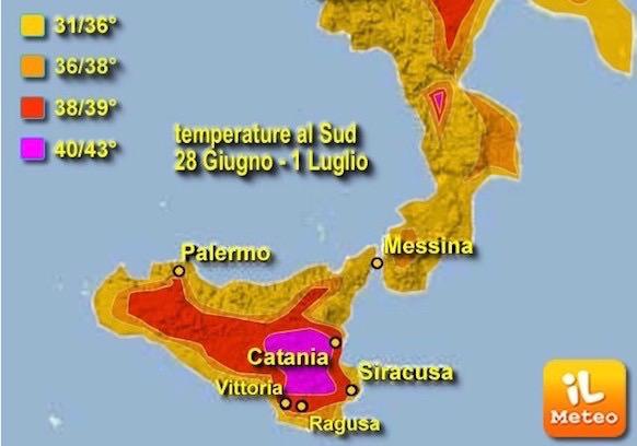 28 giugno – 1 luglio. A Catania tre giorni bollenti
