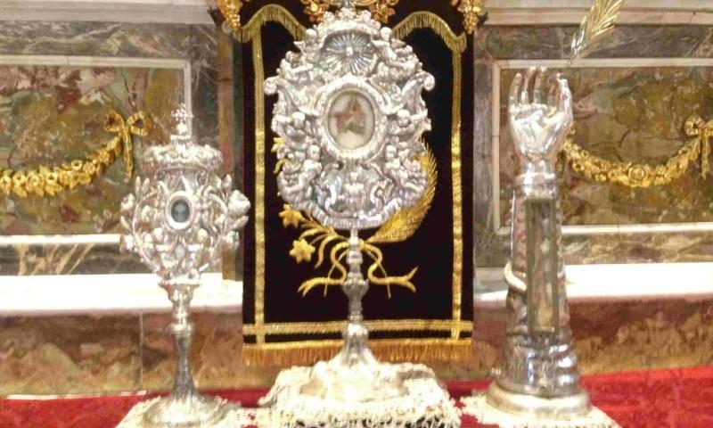 Domani la festa della Traslazione delle reliquie