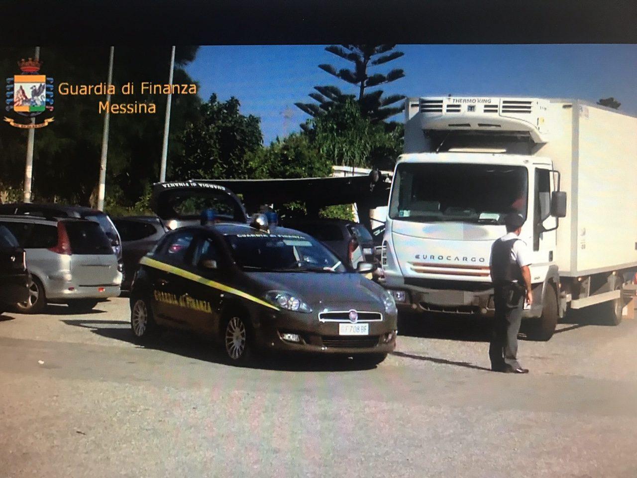 GDF: sequestri preventivi e sanzioni per trasporto abusivo di merci a Barcellona Pozzo di Gotto