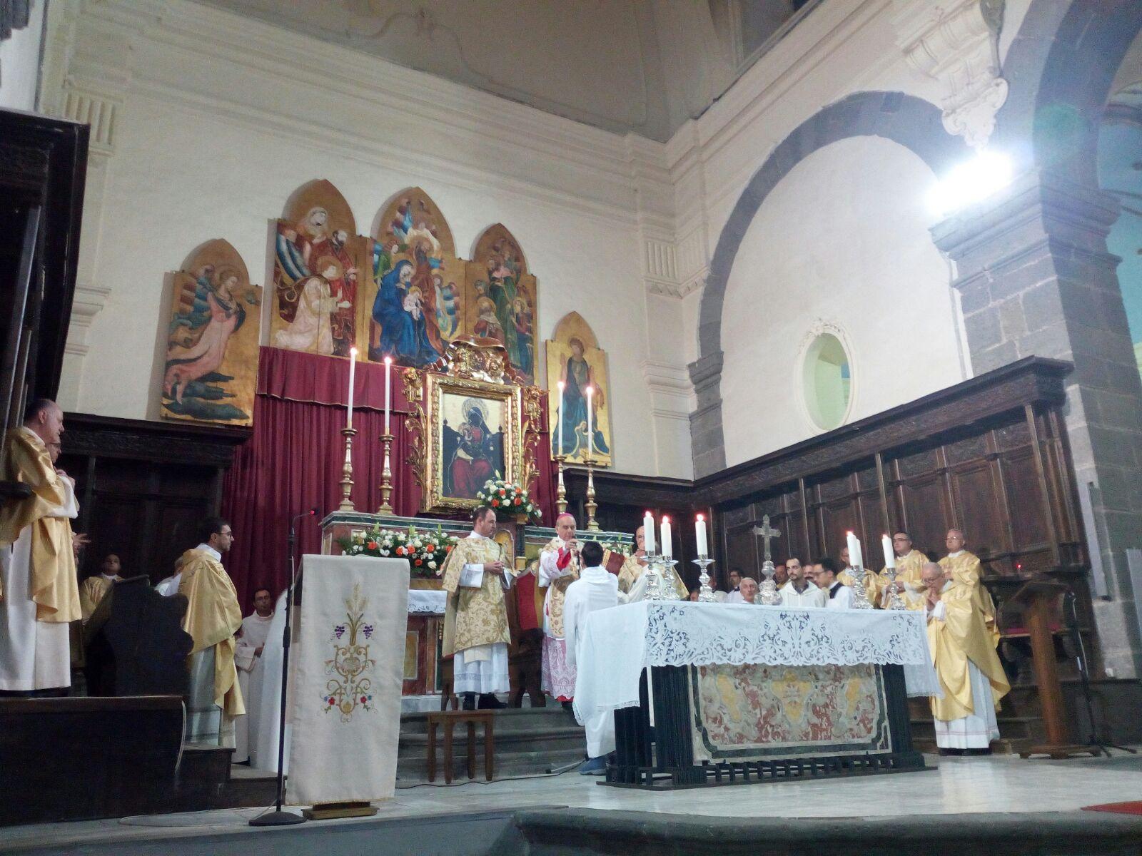 Iniziata ieri sera la visita pastorale alla comunità di Paternò