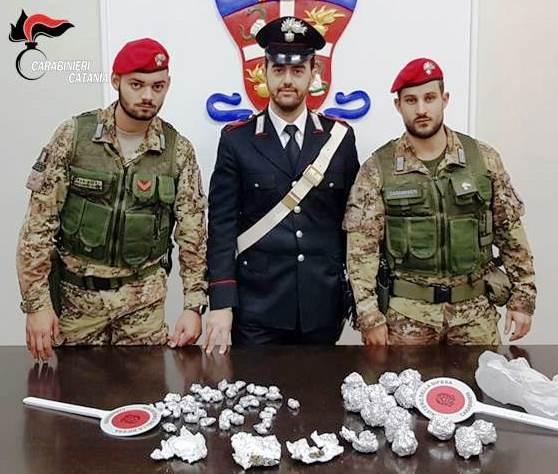 Paterno':  I carabinieri arrestano due spacciatori