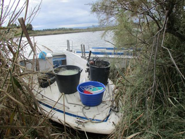 Pesca di frodo sul Simeto. Sette fermati