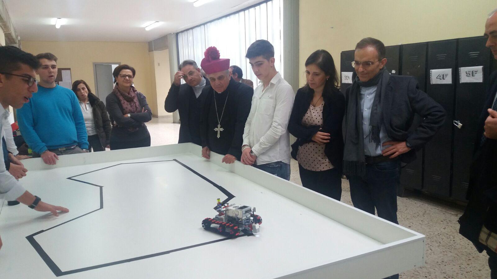 L'arcivescovo in visita all'istituto Don Milani e al liceo scientifico Fermi