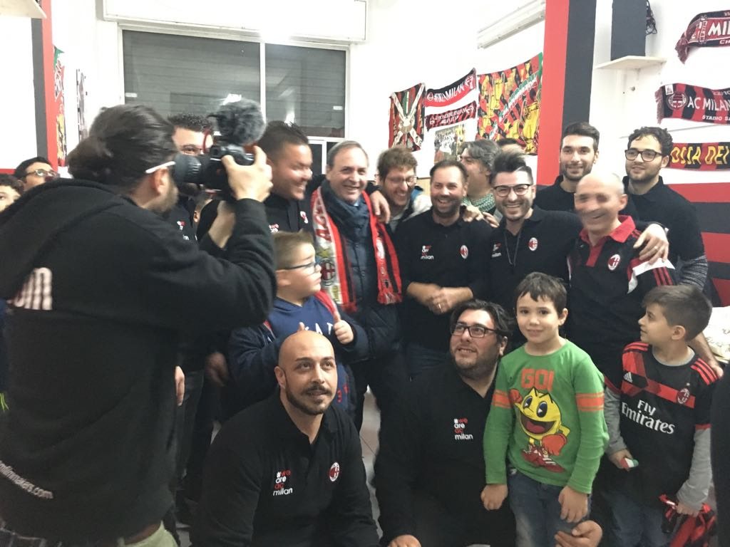 Nasce il Milan club Paterno' 2017