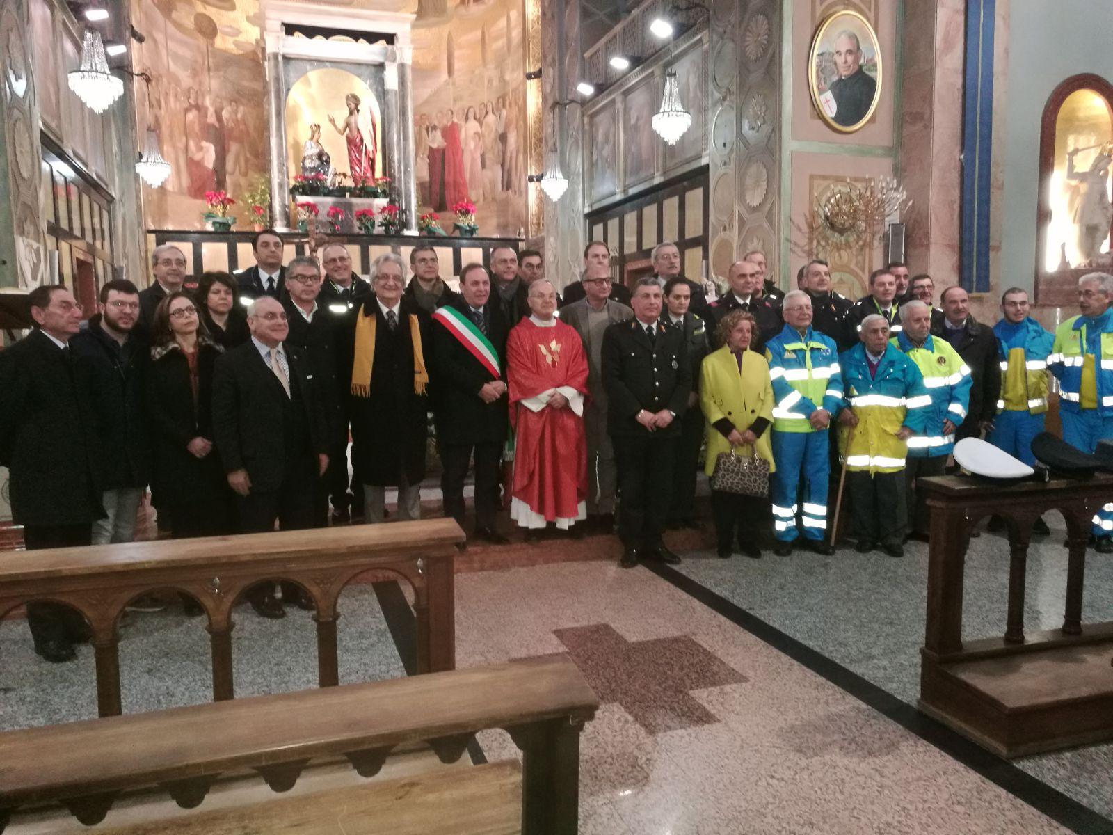 Paternò. Celebrata la messa per san Sebastiano patrono della Polizia Municipale