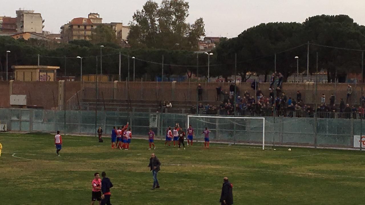 PATERNÒ – BIANCAVILLA 1-0. UN GOL DI URSO DECIDE IL MATCH.