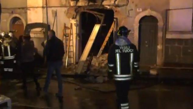 Catania, esplosione in via Garibaldi. Tre vittime
