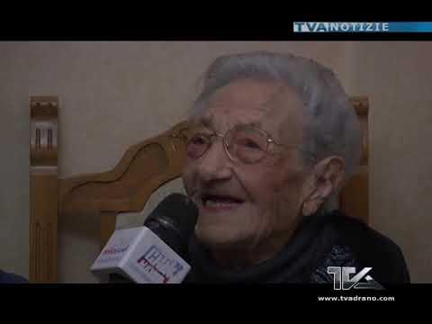 Auguri alla paternese Maria Rosaria Orifici. 107 anni e non li dimostra
