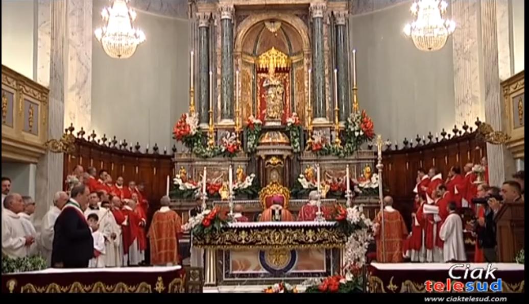 Paternò. Festa di Santa Barbara: stamattina il solenne pontificale
