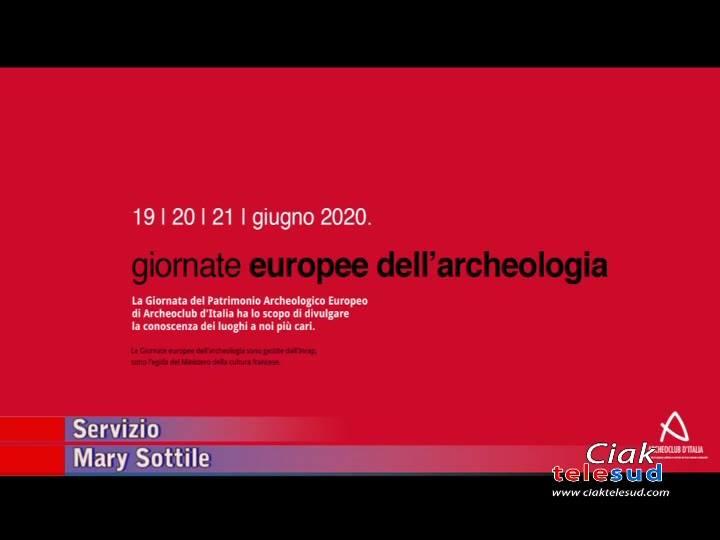 AL VIA LE GIORNATE EUROPEE DELL'ARCHEOLOGIA