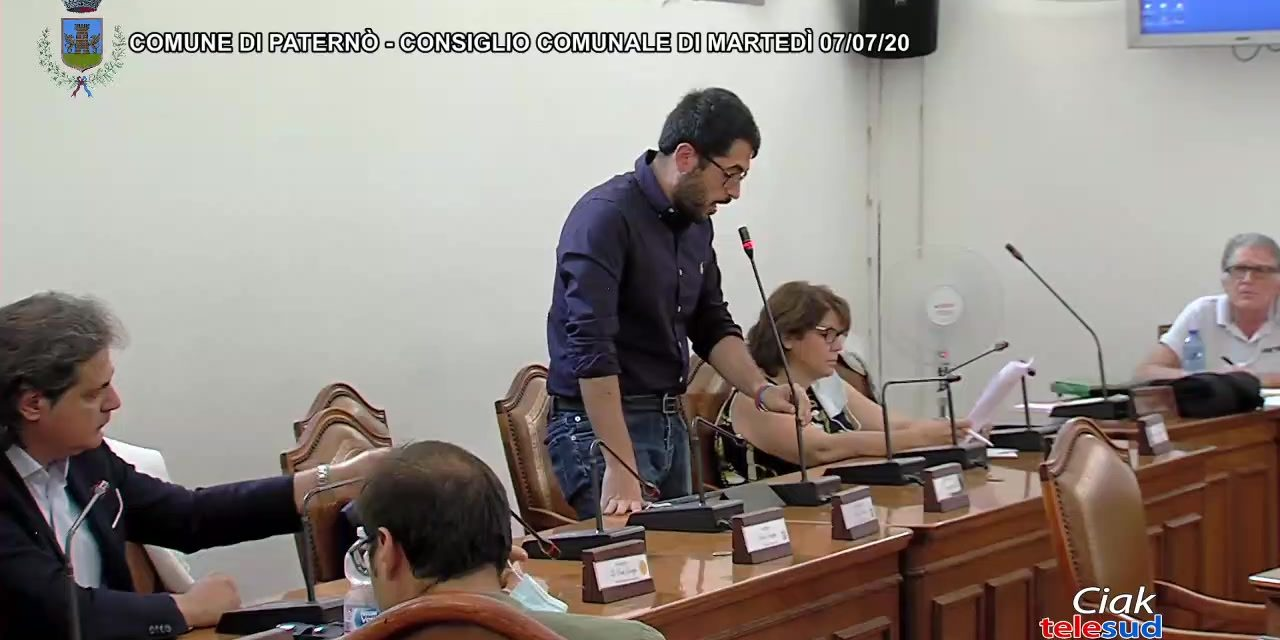 Paternò. Diretta streaming Consiglio Comunale 07/07/20