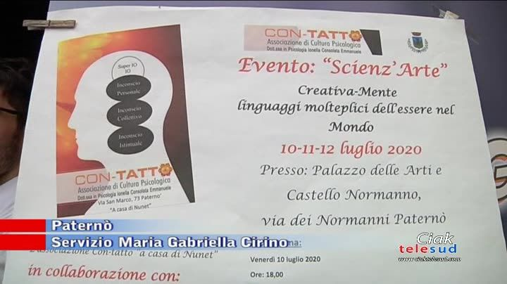 "AL VIA L'EVENTO ""SCIENZ'ARTE"""