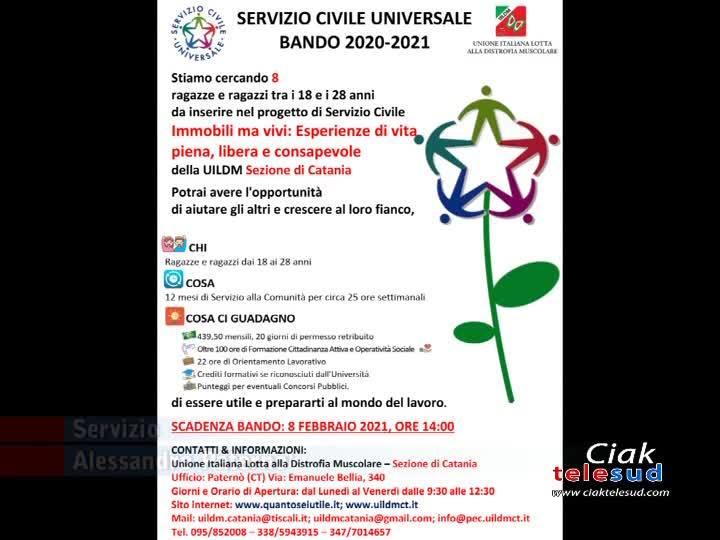 L'UILDM LANCIA IL SERVIZIO CIVILE UNIVERSALE