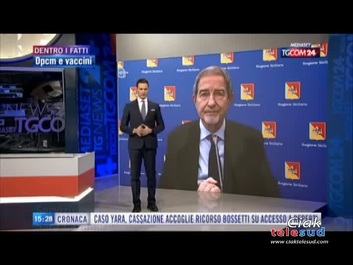 """MUSUMECI: """"LA ZONA ARANCIONE NON BASTA PIÙ!"""""""