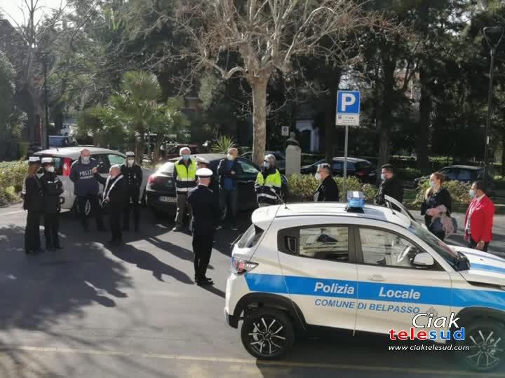 BELPASSO: NUOVA AUTO PER LA POLIZIA URBANA
