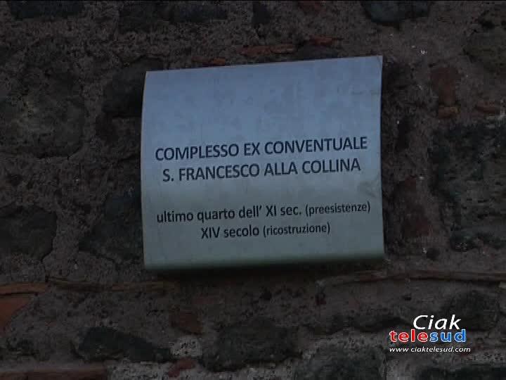 SAN FRANCESCO ALLA COLLINA, TUTELARE IL PATRIMONIO