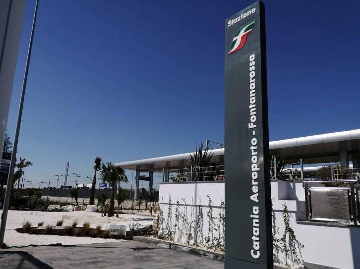 CATANIA: INAUGURATA LA NUOVA FERMATA FERROVIARIA CATANIA AEROPORTO-FONTANAROSSA