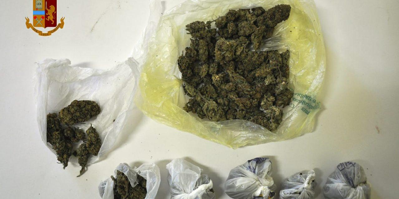 ADRANO: 22ENNE BECCATO CON DROGA E SENZA ASSICURAZIONE, DENUNCIATO