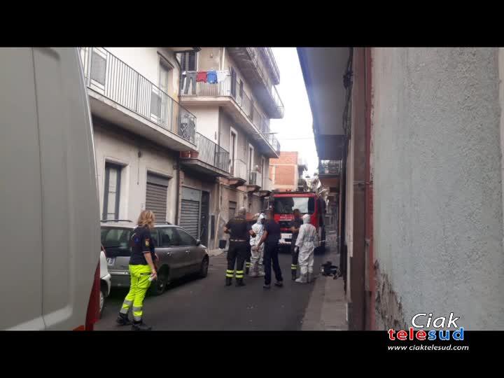 PATERNÓ:TROVATO UOMO DECEDUTO ALL'INTERNO DELLA PROPRIA CASA