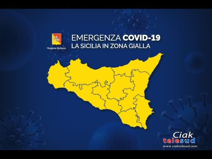 SICILIA ANCORA IN ZONA GIALLA