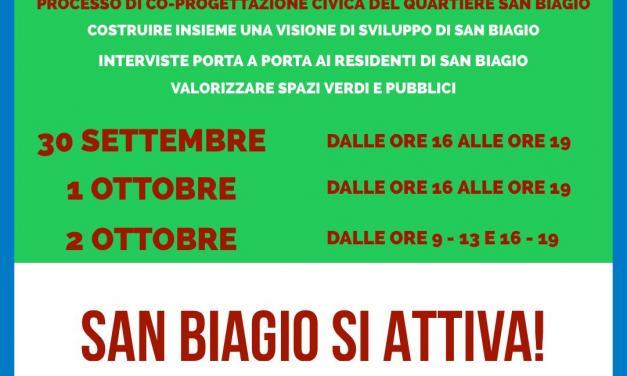Paternò. Tre giorni di interviste ai residenti del quartiere San Biagio per continuare il processo di co-progettazione civica LIFE SimetoRES.
