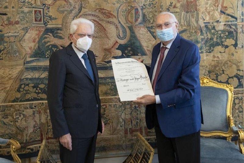 PIPPO BAUDO NOMINATO CAVALIERE DI GRAN CROCE DA MATTARELLA: RICONOSCIMENTO ALLA SUA PROFESSIONALITÀ